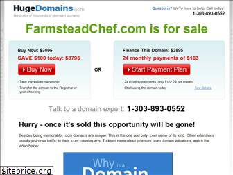 farmsteadchef.com