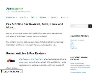 faxauthority.com