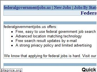 federalgovernmentjobs.us