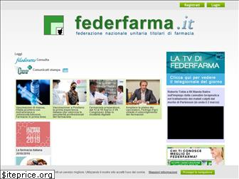 www.federfarma.it website price
