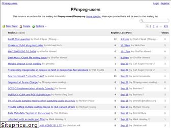 ffmpeg-archive.org