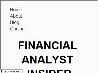 financialanalystinsider.com