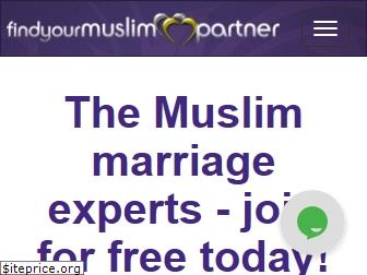 findyourmuslimpartner.com