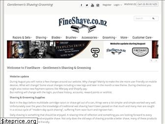 fineshave.co.nz