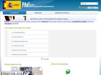 firmaelectronica.gob.es