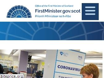 www.firstminister.gov.scot website price