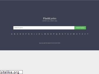 flashlyrics.com