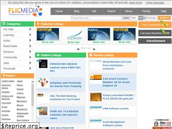 www.flicmedia.co.uk website price