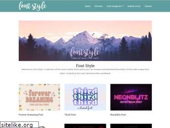 fontstyle.org