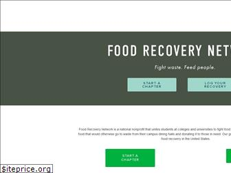 foodrecoverynetwork.org