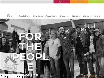 forapeoplesparty.org