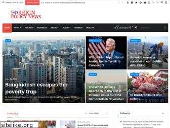 www.foreignpolicynews.org website price