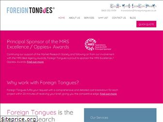 foreigntongues.co.uk