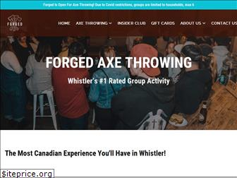 forgedaxe.ca