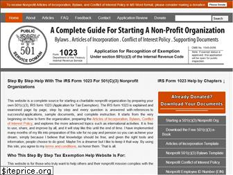 form1023.org
