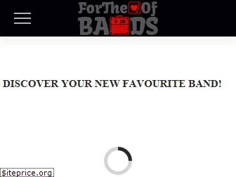 fortheloveofbands.com
