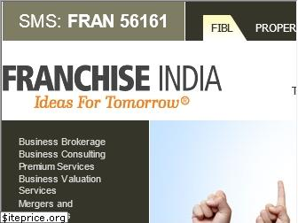 www.franchiseindia.in website price