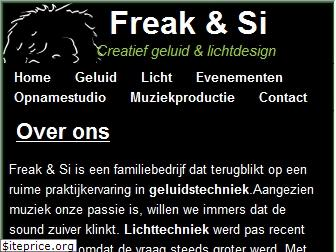 www.freakandsi.be website price