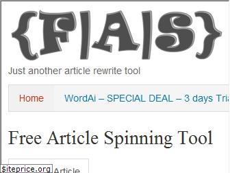 freearticlespinning.com