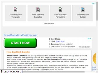 www.freebacklinkbuilder.net website price