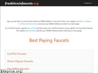 freebitcoinfaucets.org