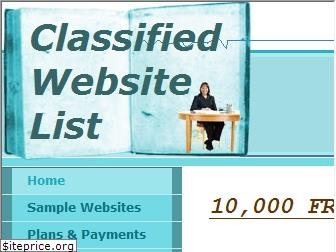 freeclassifiedwebsitelist.com