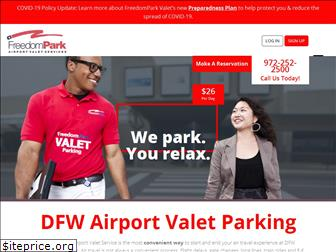 freedomparkdfwvalet.com