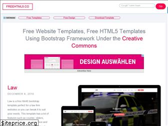 freehtml5.co