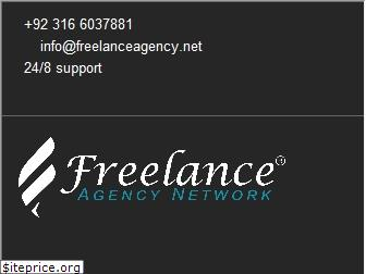 www.freelanceagency.net website price