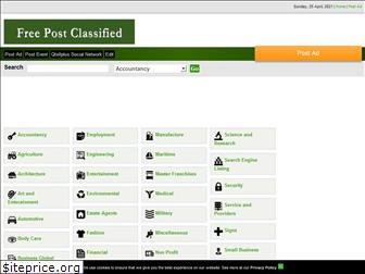 freepostclassifiedads.com
