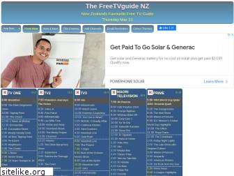 freetvguide.co.nz