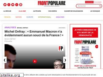 frontpopulaire.fr