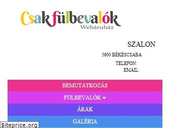 www.fulbelovesbekescsaba.hu website price