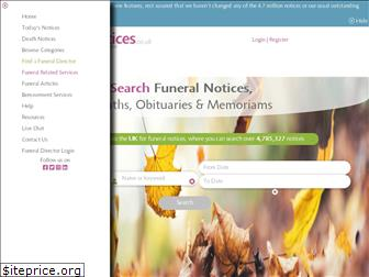 funeral-notices.co.uk