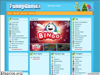 www.funnygames.no website price