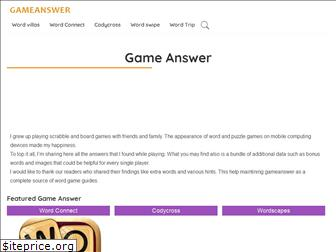 gameanswer.net