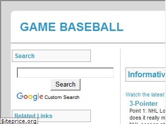 gamebaseball.com