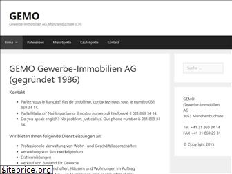 www.gemo.ch website price