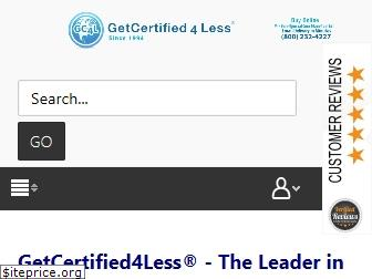 getcertified4less.com