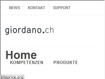 www.giordano.ch website price
