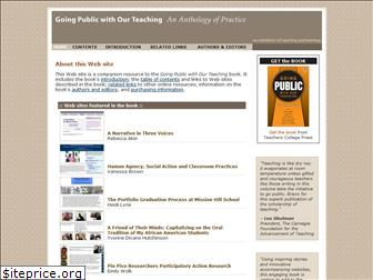 goingpublicwithteaching.org