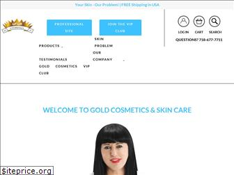 goldcosmetics.com