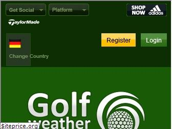 golfweather.com