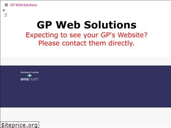 www.gpwebsolutions-host.co.uk website price