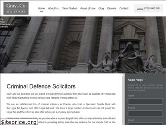grayandcosolicitors.co.uk