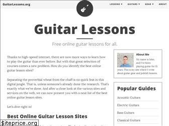 guitarlessons.org