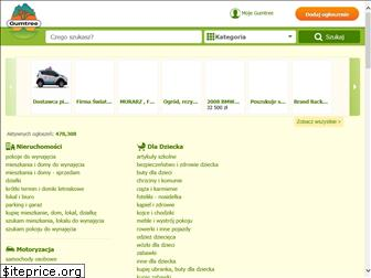 www.gumtree.pl website price