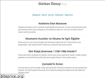 www.gurkanozsoy.blog website price