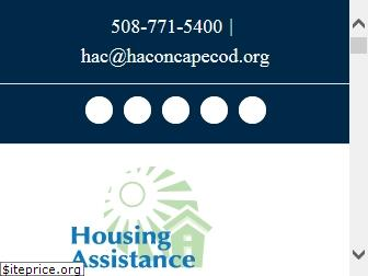 www.haconcapecod.org website price