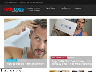 hairlossproductsreview.net